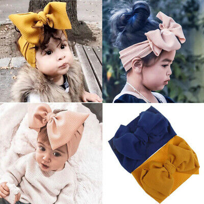 Kids Hair Bow For Baby Girl Headband Newborn Children Toddler Elastic Hairband ()