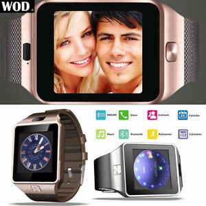 Smartwatch Android/Iphone with sim-card slot and microSD slot