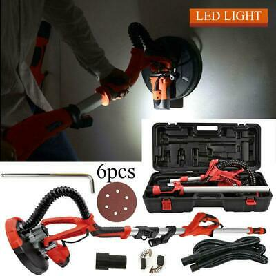 750w Drywall Sander Electric Sanding Tool Dry Wall Carrying Case Kit Led Light