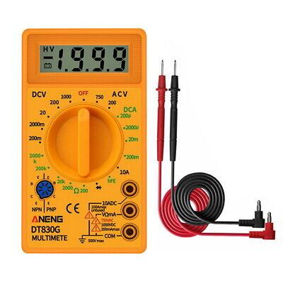 Multimeter Lcd Pocket Digital Multi Tester Voltmeter Ammeter Ohmmeter Acdc Auto