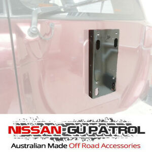 Nissan GU Patrol Spare Wheel Spacer Bracket Y61 suit 33 & 35 mud tyres & more
