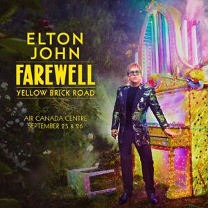 2 Tickets to Elton John Concert. Sept. 26th. Face Value!
