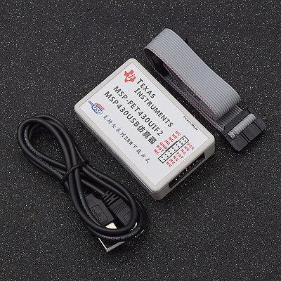 Usb Msp430 Emulator Msp 430 Msp-fet430uif Jtag Emulator Programmer Debugger 1 Pc