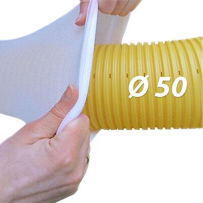 20 m tubo di drenaggio DN50 GIALLO Tubo filtrante set