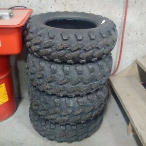SET OF CARLISLE ATV TIRES