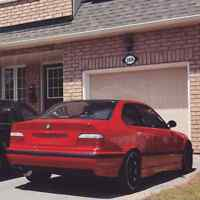 97 BMW 328is COUPE sports - stanced, manual
