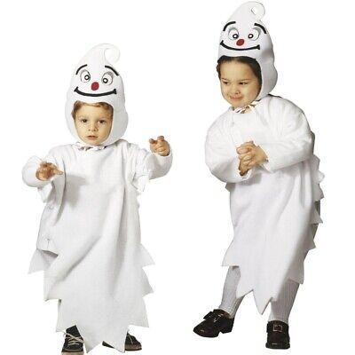 KLEINES GESPENST Kinder Kostüm 2-tlg. Geist Ghost Halloween Kleinkind 104 - - Geist Kostüm Kinder Kleinkind