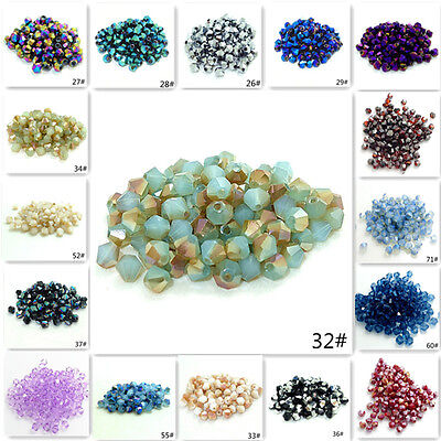Wholesale Glass Beads (Wholesale 200pcs bicone crystal glass 5301 # 3mm loose spacer Beads DIY)
