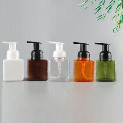 250ml Foaming Soap Dispenser Bottle Facial Cleaner Foam Maker Bottle HF
