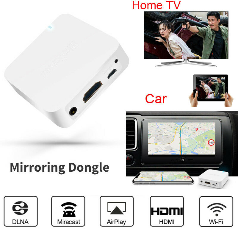 Wireless WiFi HDMI HDTV Video Receiver Adapter for iPhone iO