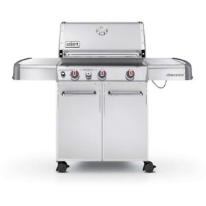 Weber Genesis BBQ with Side Burner and Cover