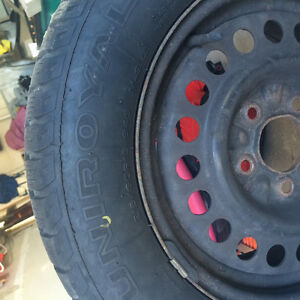 3 Winter Tires and Rims Only Used One Season Peterborough Peterborough Area image 3
