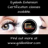 Eyelash Extension Certification Training Course Available