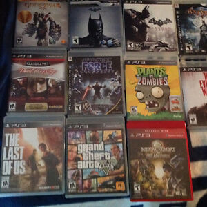 Ps 3 Games -all like new in org cases and booklets, some rare