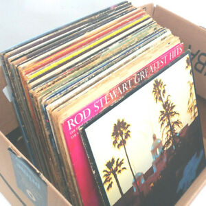 Box of 39 Vinyl Records - Online Auction