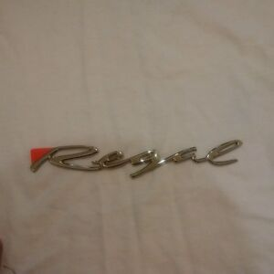 NOS Buick Regal name plate 95-97