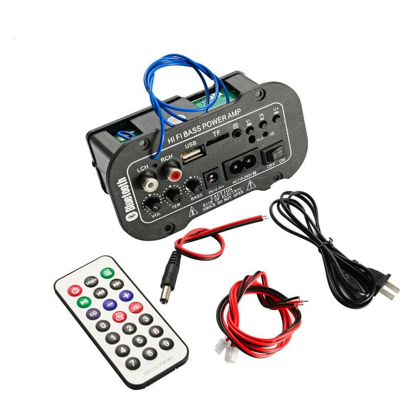 Bluetooth Digital Amplifier Board 30W Audio Amplifiers With USB dac FM Radio