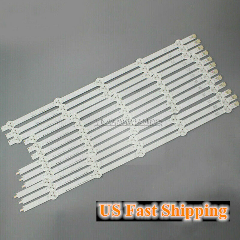 12Pcs LED Strips for LG 50LN5400-CA 50LA620V 6916L-1276A /73A /1241A for 50""