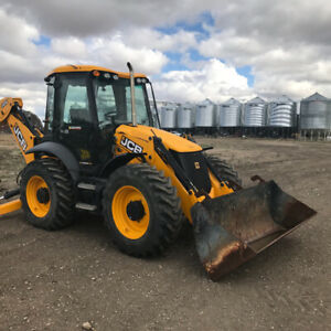 2014 JCB 4CX, 4 Wheel steer,700 hr,wheeled  backhoe
