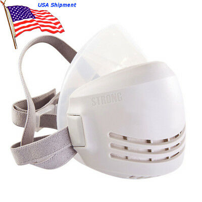 Us Silicone Anti Dust Respirator For Welding Paint Spraying Industrial Gas Mask