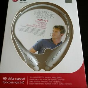 LG HBS - 730 Bluetooth Stereo Headset NEW