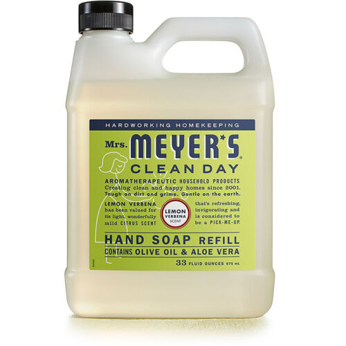 Mrs. Meyer's Liquid Hand Soap Refill, Lemon Verbena, 33 Flui