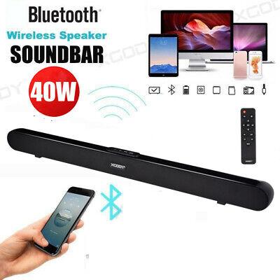 31'' TV Soundbar Heimkino Subwoofer Wireless Bluetooth4.0 Optisch Coaxial System