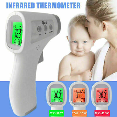 IR Infrared Digital Forehead Fever Thermometer Non-Contact Baby / Adult Body@@@