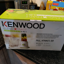 Kenwood Blend X Tract 3 in 1 Blender