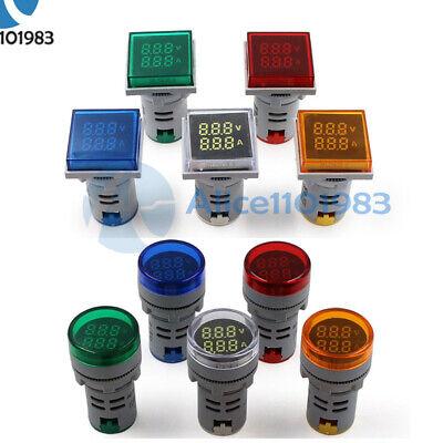 Ac 50v-500v 0-100a Digital Dual Led Display 100v 220v Voltmeter Ammeter Voltage