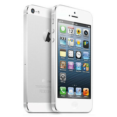 ON SALE~Apple iPhone 5 32GB White Tested - Factory Unlocked Excellent Smartphone