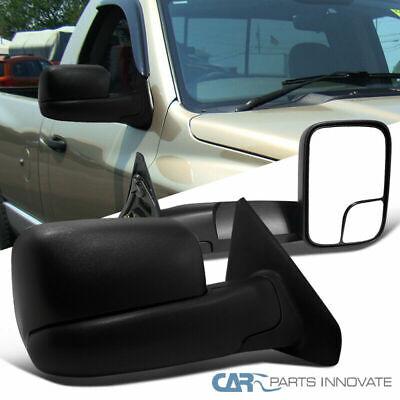 Dodge 02-08 Ram 1500 03-09 Ram 2500 3500 Pickup Towing Side Mirrors Power Heated