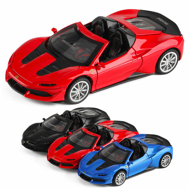 Details about Ferrari J50 Sports Car 132 Scale Model Car Diecast Gift Toy  Vehicle Sound Light