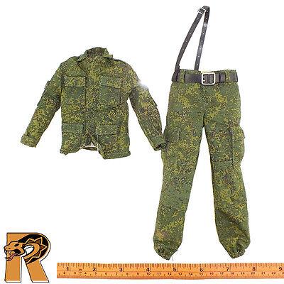 Natalia Russian Airborne   Female Uniform W  Belt   1 6 Scale   Damtoys Figures