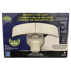 Home Zone Motion Activated LED Security Light - 2500 Lumens 35 W