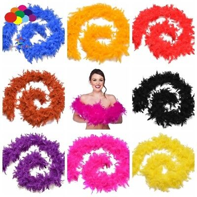 Turkey Costume Diy (2 Meter Fluffy Turkey Feather Boa Strip Trim for Diy Costume Wedding)
