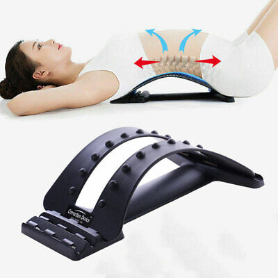 Magic Back Support Stretcher Spine Posture Corrector Massager Relief Lumbar Pain