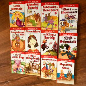 Read with me - set of 12 fairy tales