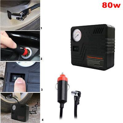 12V tragbare Luft Kompressor Pumpe 100 PSI Reifen Inflator für Fahrrad Auto