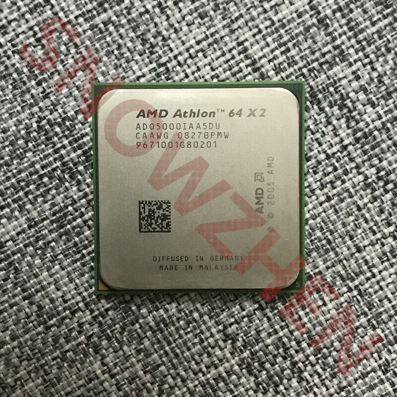 Amd Athlon 64 X2 5000 Cpu Ado5000iaa5du 2 6ghz Dual Core Socket Am2 Processor