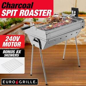SAVE $$ Charcoal Rotisserie BBQ Electric Portable WAS $200 Penrith Penrith Area Preview