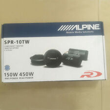 "Alpine SPR-10TW 1"" Component Tweeter/ 1-inch Car Tweeters Type-R Alpine Tweeter"