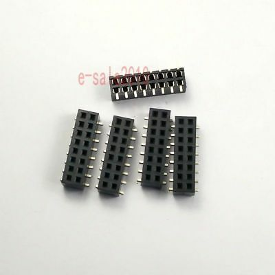 10pcs 2mm 2.0mm Pitch 2x8 Pin 16 Pin Female Double Row Smt Smd Pin Header Strip