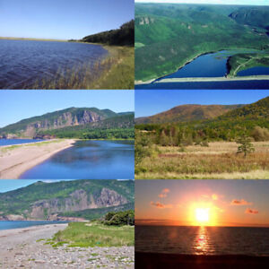 1 acre of lakeside land for sale in Cheticamp NS on Cabot Trail