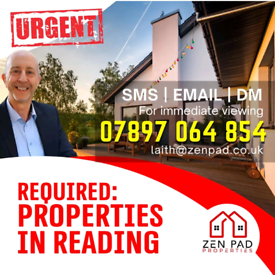 Property in Reading, Urgently Needed