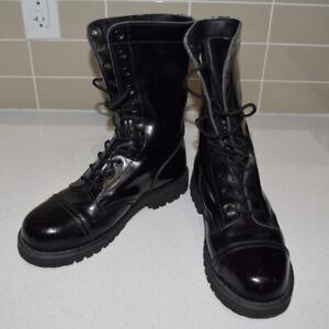 Combat Boots Size 8