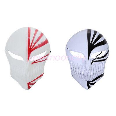 Bleach Ichigo Kurosaki Death Cosplay Christmas Halloween Party Skull Face Masks](Death Face Halloween)