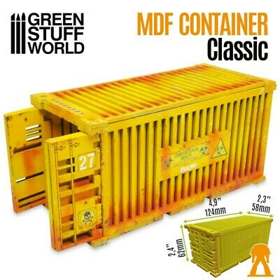 Klassischer 20 Fuß Container - mdf Schubladen Holz Infinity renedra warhammer