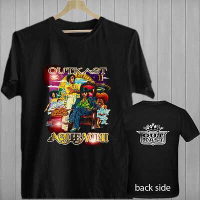 Outkast Aquemini Rap Hip Hop Music Songs Album Black T Shirt Shirts Tee Xs 3Xl