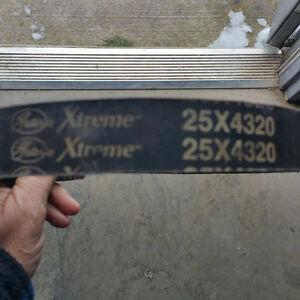 Extreme snowmobile belt 25x4320